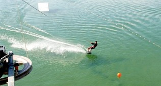 Wakeboarden in het Adventure Park